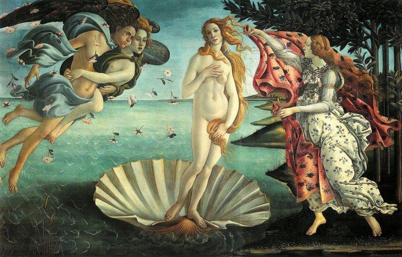 Venus of Botticelli