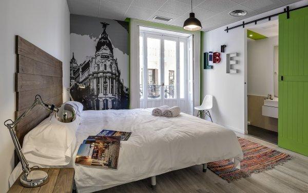 Private bedroom in Safestay Madrid