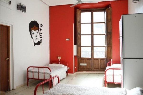 Shared bedroom at Way Hostel