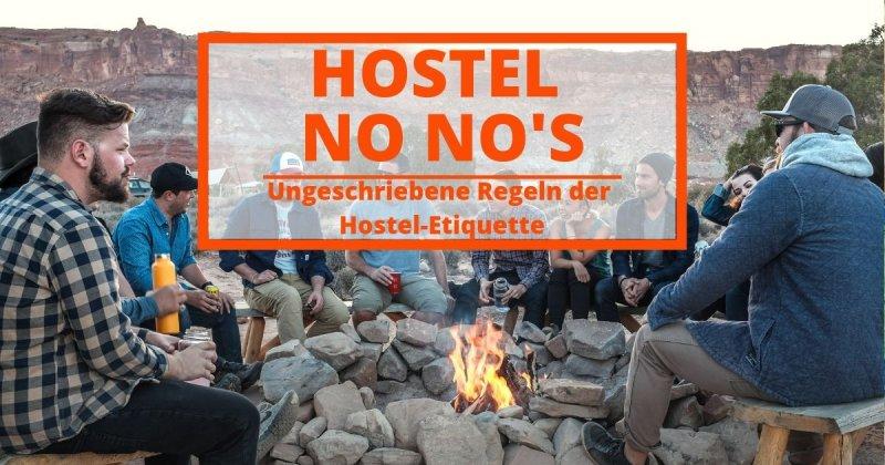 Hostel No-No's
