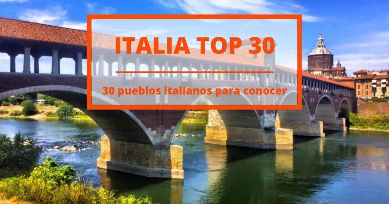 30 ciudades italianas que jamás se te ocurriría visitar