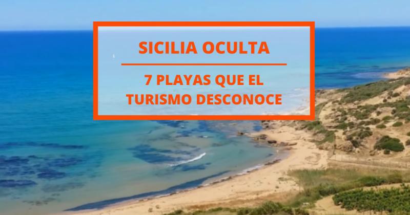7 playas ocultas en Sicilia que aún no han sido descubiertas por el turismo masivo